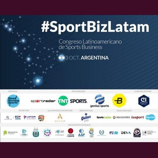 SportBizLatam Buenos Aires, 03 de Octubre del 2019 Centro de la Ciencia