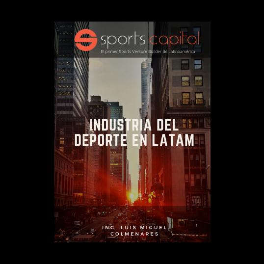 """Ya esta en Amazon nuestro primer E-book sobre """"La Industria del Deporte en Latam"""""""